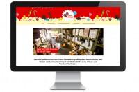 Webseite Jakob DIstler in Bildschirm