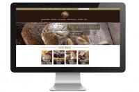 Webseite Witte in Mac Bildschirm